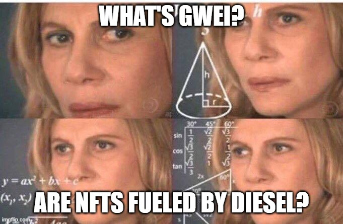 NFT gas fees